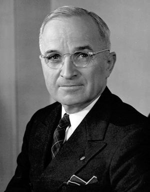 Harry S. Truman (1884 – 1972), 1945 – 1953 the...