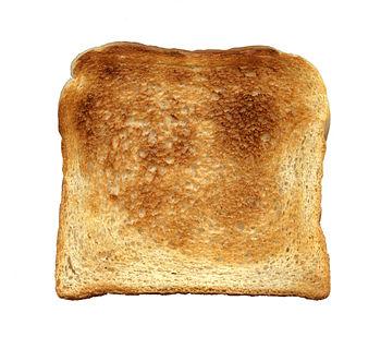 Toast, toasted