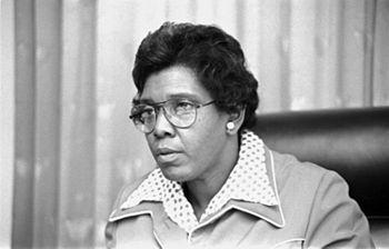 Barbara Jordan, member of the U.S. House of Re...